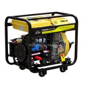 供应柴油电焊发电机组带四小轮,快速接头