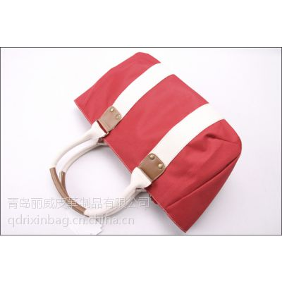 供应青岛帆布手提包加工 帆布包定做厂家 休闲帆布包工厂
