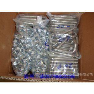 供应不锈钢尼龙防松螺母不锈钢螺母不锈钢标准件厂家