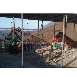 供应处理废钢渣回收金属铁提高选矿厂处理能力的铁矿干选设备干式磁选机