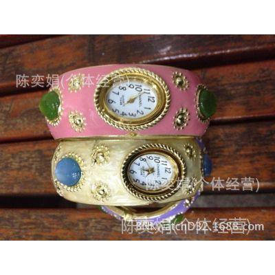 时尚女人***爱的天然猫眼手镯表(厂家直销) 手表