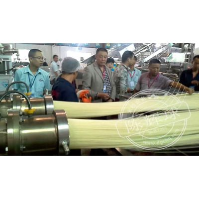 蒸粒式半干粉生产线-陈辉球生产线提高市场美誉度