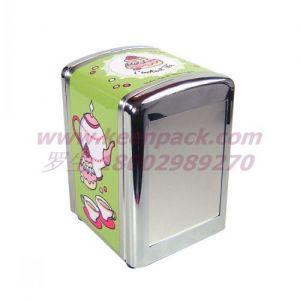 供应供应纸巾铁盒/餐巾铁罐