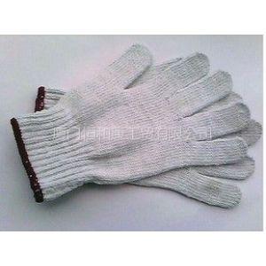 供应供应厦门棉纱针织手套 黑纱手套 灯罩纱手套