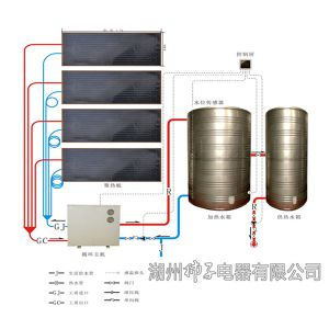 供应太阳能热水工程异聚态中央热水处理系统1吨起