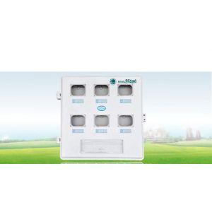 供应六户玻璃钢电表箱