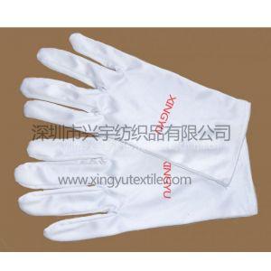 供应超细纤维白色钟表手套