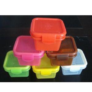 供应塑料 水果盒 乐扣保鲜盒 四扣压 耐高温 可放置微波炉 厂家直销供应