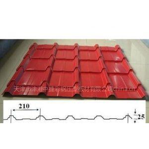 供应YX25-210-840彩钢琉璃瓦