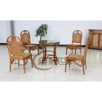 供应藤编茶桌椅,藤编阳台休闲茶桌椅,广靓源家具厂热销