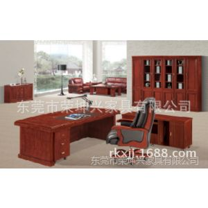供应厂家现货代应库存老板办公桌 办公班台 油漆台 皮面办公桌 大班桌