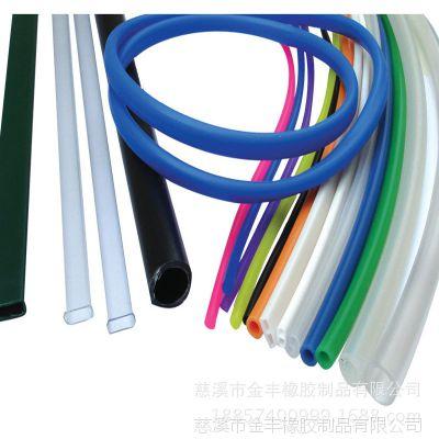 e型硅胶条 定制各种 发泡硅胶条 硅胶管
