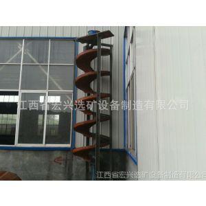 供应选铁钨锡专用螺旋溜槽 玻璃钢溜槽 专利产品