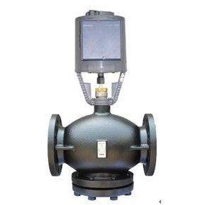 供应郑州西门子蒸汽混装温控阀DN80