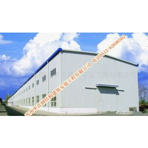 供应苏州厂方幕墙设计制作/华良钢结构公司