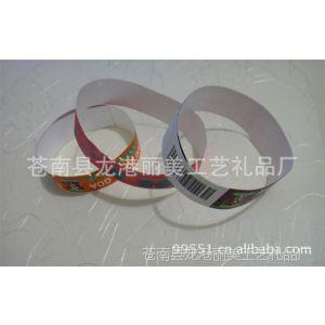 供应环保手腕带,纤维腕带,广告手带,杜邦纸腕带,门票带