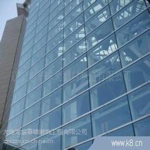 供应大连玻璃幕墙设计安装玻璃雨棚采光顶设计安装公司