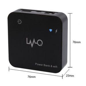 供应三合一移动电源带无线路由器 3G转WIFI热点 多媒体存储移动电源电源批发