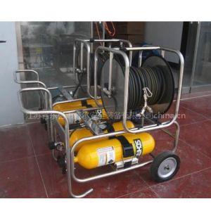 供应推车式钢瓶长管呼吸器5、6L