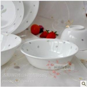 供应美国康宁玻璃餐具 紫苺500ML小汤碗(418-PU) 专柜正品热卖