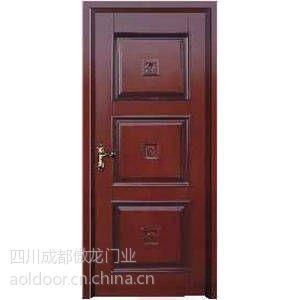 供应成都实木雕花门厂-傲龙门业-实木套装门直销