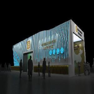 2012重庆动漫节展台设计搭建,重庆展台特装,重庆展览展示