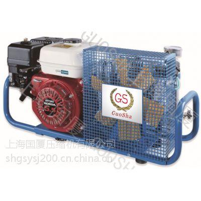 消防气瓶专用空气填充泵 其他国厦活塞空气压缩机300bar(公斤)