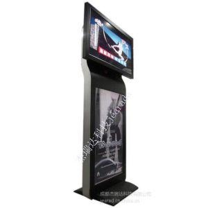 杰瑞达供应成都42寸立式网络高清电梯双面屏液晶广告机价格