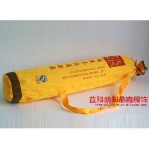 供应定做安化黑茶十两百两千两黑茶帆布包装袋