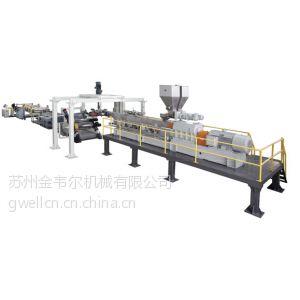 供应双螺杆免干燥排气型PET片材生产线
