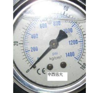 (中西)供应充油耐震压力表型号:DJ-YN60 0-100KG(YCM特价)