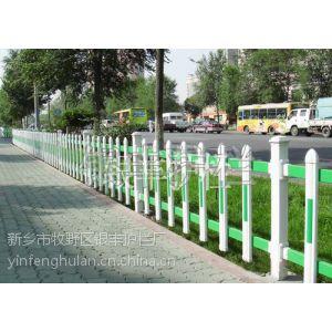 供应河南驻马店热镀锌锌钢草坪护栏绿化工程草坪栅栏园林绿化栅栏