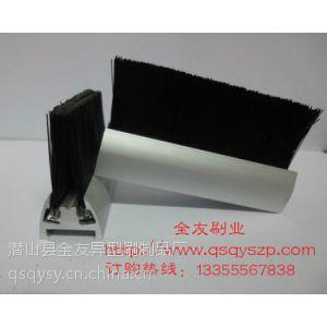 供应扶梯条刷|北京扶梯条刷|毛刷条|异型条刷|