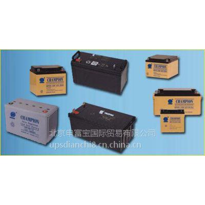 直流屏电池 蓄电池 CHAMPION蓄电池 直流屏电池销售