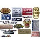 供应制作铝标牌、铜标牌,不锈钢标牌