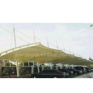 供应公司学校工厂豪华停车棚张拉膜结构