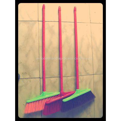供应各种规格各种材质扫把簸箕扫把杆拖把杆