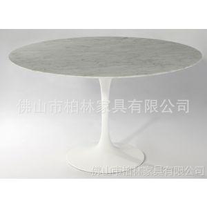 供应天然大理石桌子(marble table)900宽  高档大理石餐桌批发