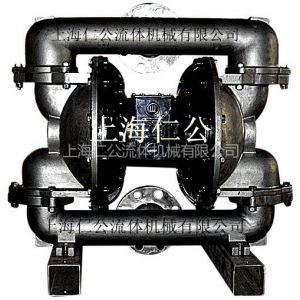 供应上海仁公气动不锈钢隔膜泵RG80、PVDF隔膜泵、微型隔膜泵