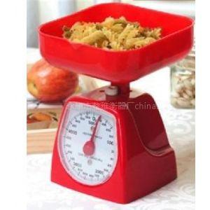供应多色可选机械厨房秤 塑料秤 食品秤 弹簧秤 礼品秤