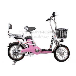 供应愉途电动车星云二代16寸48V特价锂电电动车电动自行车