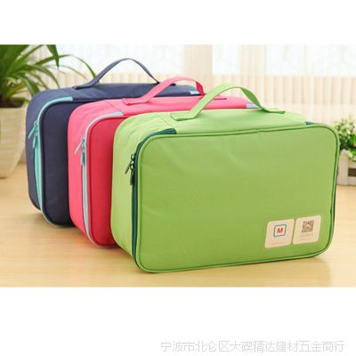 批发韩国衣物收纳包 时尚分类幸运旅行包 便携多色内衣文胸收纳包