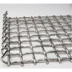 供应钢轧花网 矿用轧花网 改拔丝轧花网