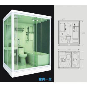 供应带浴盆的集成卫生间、组装卫生间