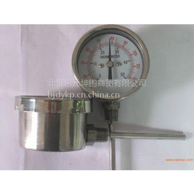 WSS双金属温度计、温度表,指针温度显示计 WSS-311 系列温度计 锅炉管道