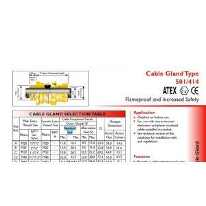 供应501/414非铠装电缆导管系统隔爆/增安hawke接头