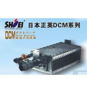 供应日本正英DCM管道式燃烧器