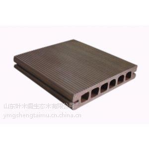 供应PVC生态木塑户外园林地板 140户外地板