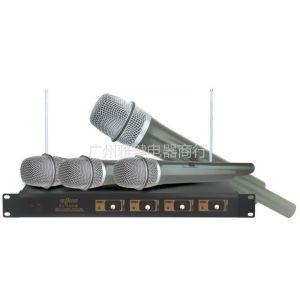 供应一拖四无线专业KTV舞台话筒婚庆主持专业麦克风YAJIAN雅健ES-4200W
