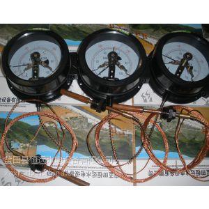 供应陕西WTZ-288电接点压力式温度计WTZ-288/WTQ-288电接点温度计示意图